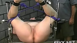 Naked wife extreme home porn in rough thraldom amateur scenes