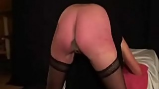 Home made video. Wife severely punished