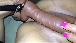 milf ibi dp with strap on pt 2