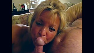 A Wife Gives and Enjoys A Wonderful Blowjob and Swallows All The Cum