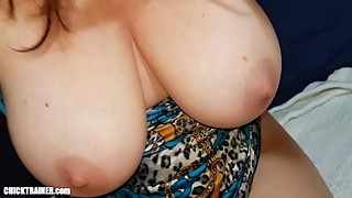 The Good Wife! Submissive Endurance Blowjob & Britney Swallows' MILF Tits