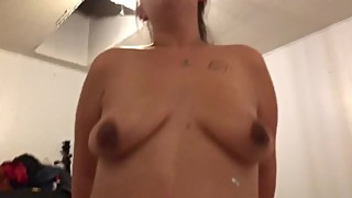 Wife cumming hard on my cock