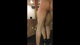 CuckoldHubby fulfills Fantasy Watching HotWife get Fucked by Multiple Bulls