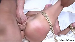 Busty Deans wife anal fucked in bdsm