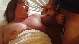 Cum hungry wife takes a load
