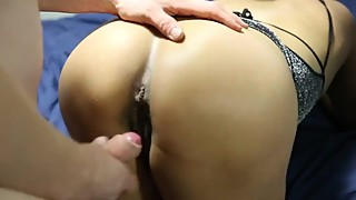 Massive load all over Fillipina wife