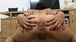Dirty Asian Wife Loves To Show Her Ass