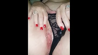 Wife teasing foreplay